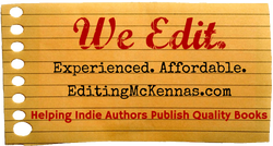 Experienced, affordable editing at editingmckennas.com