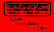 Affordable book covers and formatting at zone1design.com