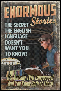 Writers who write in English have extra language resources.